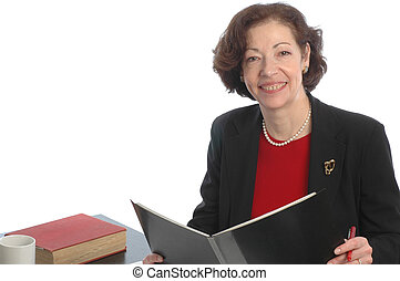 smiling business woman 677