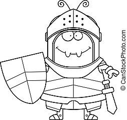 Smiling Cartoon Ant Knight