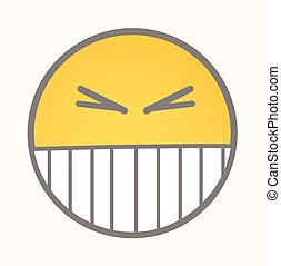 Smiling - Cartoon Smiley Vector