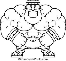 Smiling Cartoon Zeus