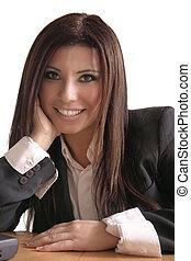 Smiling consultant - Smiling businesswoman