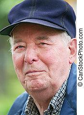 Smiling Elderly Man