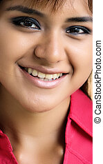 Smiling Face Of Girl