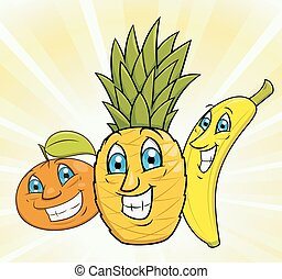 Smiling fruits 2