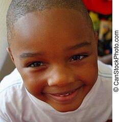 Smiling happy child