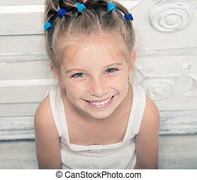 smiling little girl