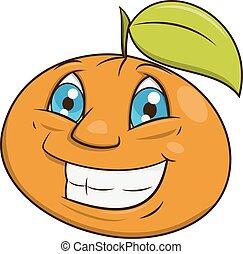 Smiling orange 2