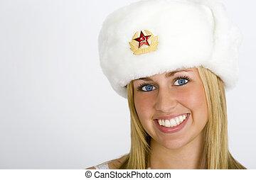 Smiling Russian Beauty