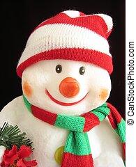 Smiling Snowman II