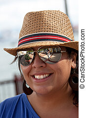 Smiling Spanish Woman