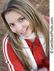 Teenager - Smiling Teenager