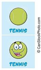 Smiling Tennis Ball Collection