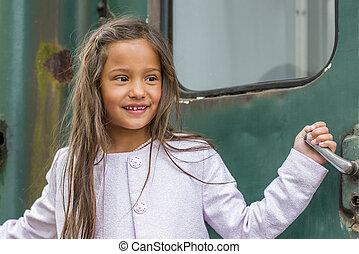 smiling thai girl