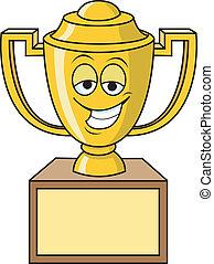 Trophy - Smiling Trophy