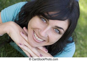 Smiling Woman - Beautiful smiling woman