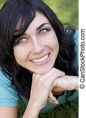 Smiling Woman - Smiling woman