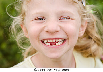 smilling happy child portrait