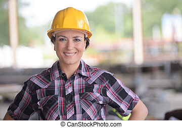 smily, γυναίκα , εργάτης , κουραστικός , ένα , κίτρινο ,...