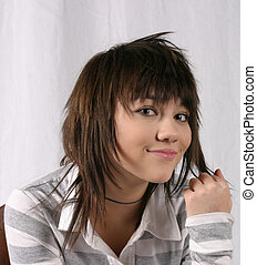 Smirking Girl