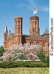 Smithsonian Institution - Smithsonian Castle and Information...