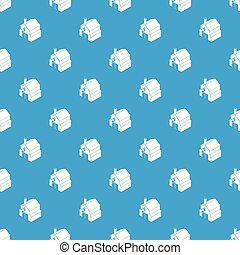 Smithy pattern vector seamless blue repeat for any use