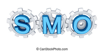 smo, gears., blanc, mot