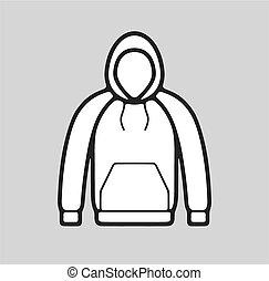 Smock icon - Vector illustration of smock icon