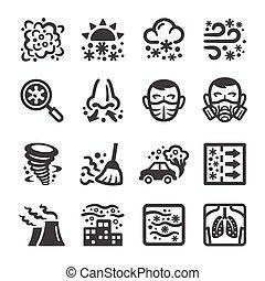 smog, jogo, ícone