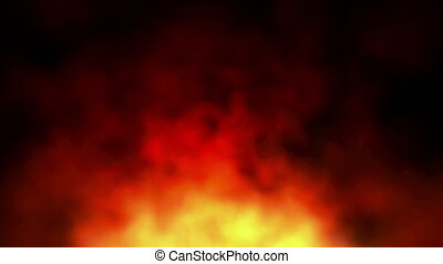 smoke abstract background fire