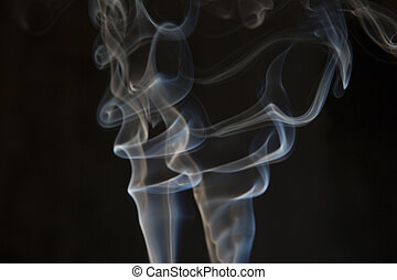 Smoke abstract dark background