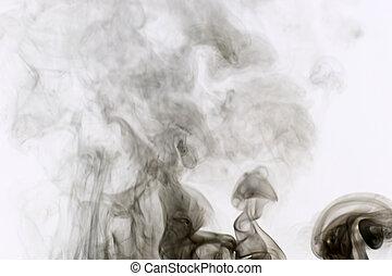 smoke background - fume colored smoke abstract background