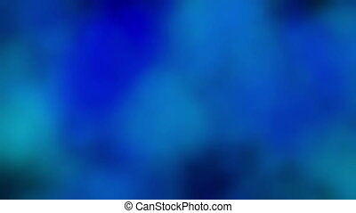 smoke blue abstract
