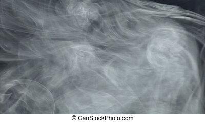 Smoke blue gray 2of2 - Smoke blue gray moves. Real shots, no...