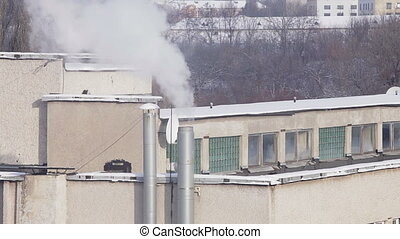 Smoke chimney Pollution