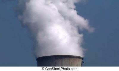 smoke cooling tower
