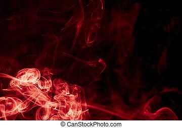 Smoke dance  - Red devil