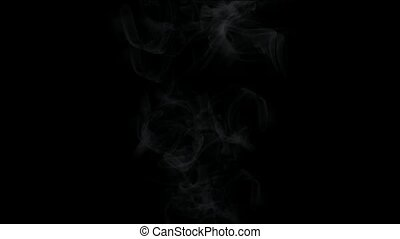 smoke & fume in darkness.