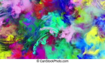 smoke ink abstract