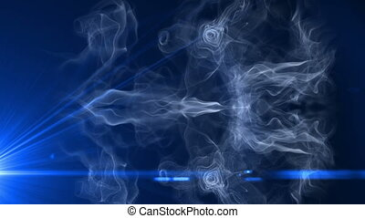 smoke light motion 4k