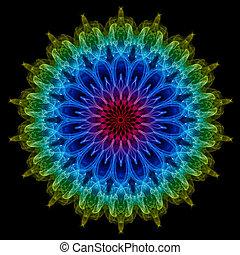 Smoke Mandala suitable for Zen enthusiasts.