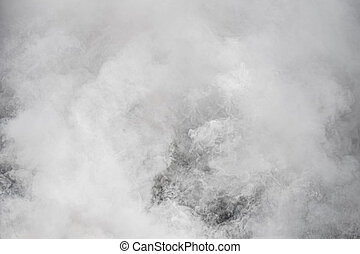 Smoke, natural background