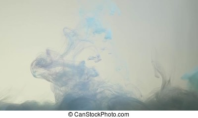 Smoke on white background. Abstract smoke on white background, smoke background, beautiful color smoke