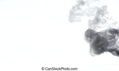 Smoke, on white