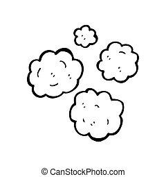 smoke puff decorative element