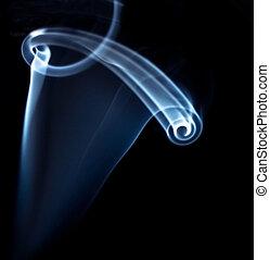smoke - photo of smoke on black background