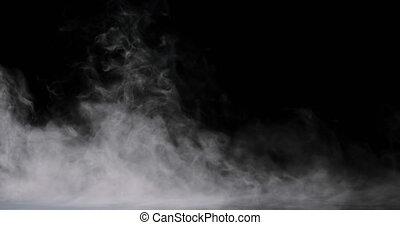 Smoke Swirling Low