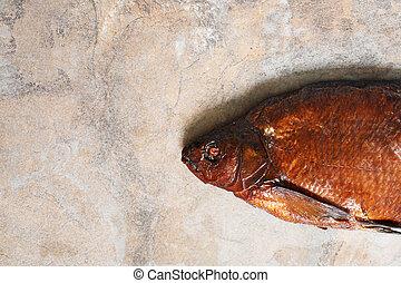 Smoked Fish Closeup
