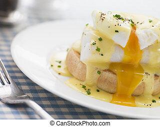 Smoked Haddock Eggs Benedict