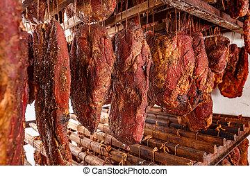 Smoked pork chop factory