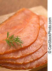 Smoked Salmon with Dill